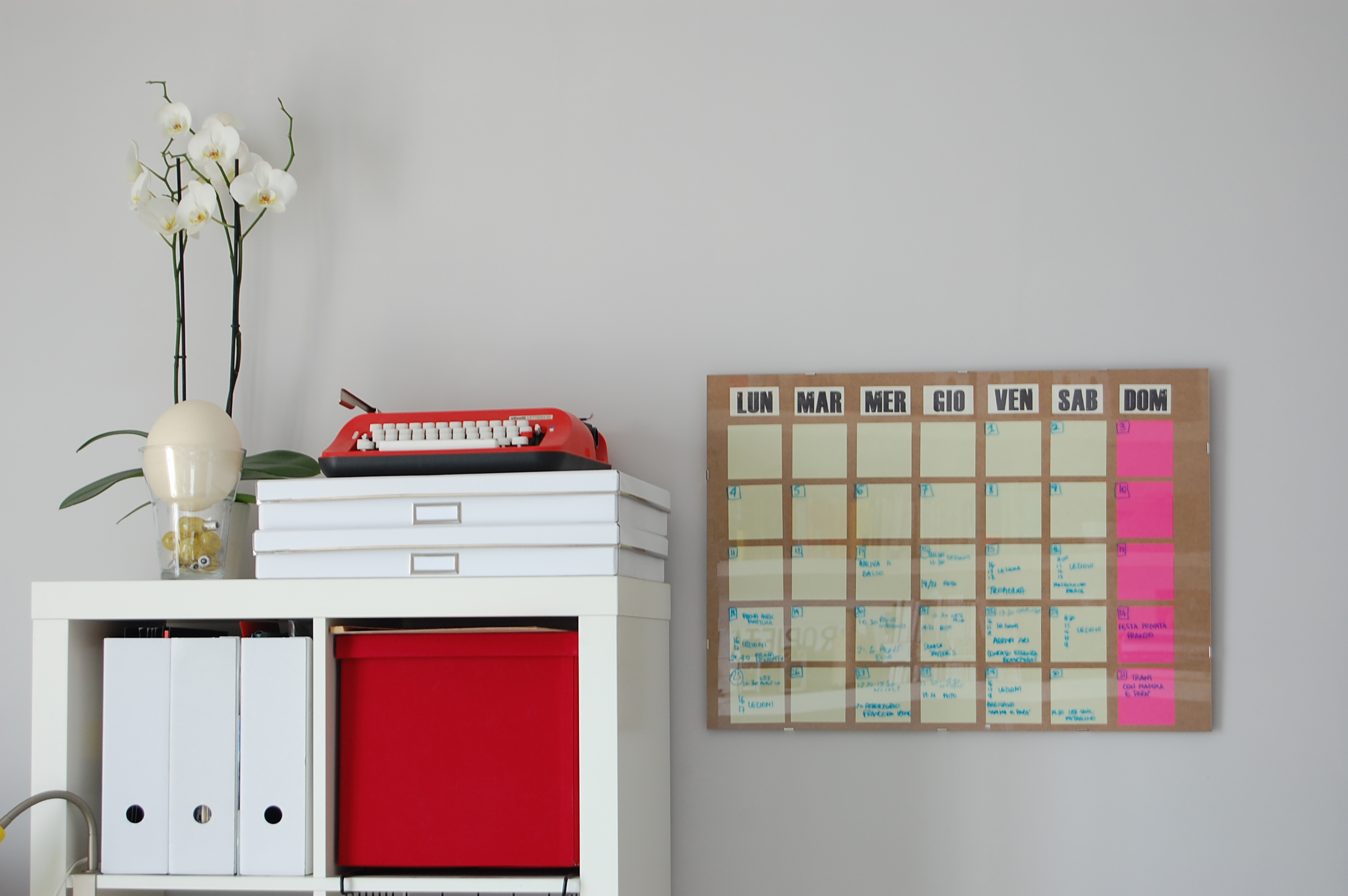 Calendar Corchol : Diy dry erase board perpetual monthly planner